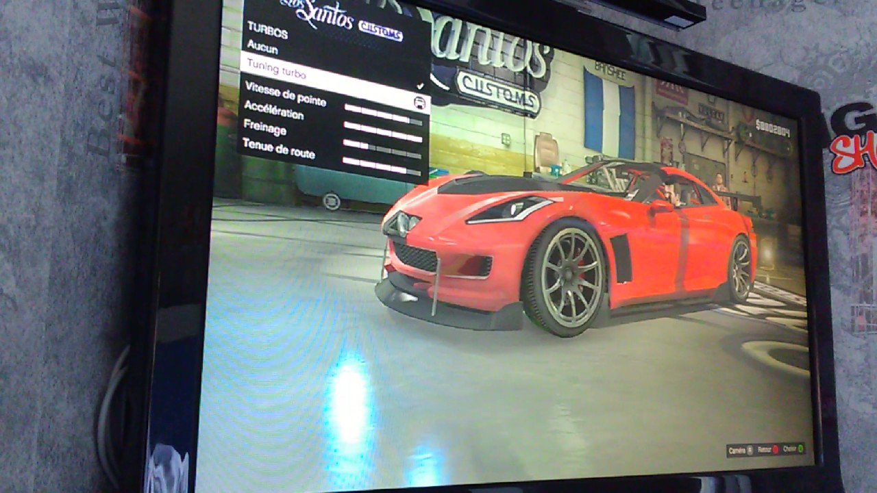 gta5 comment bien customiser une belle voiture de sport youtube. Black Bedroom Furniture Sets. Home Design Ideas
