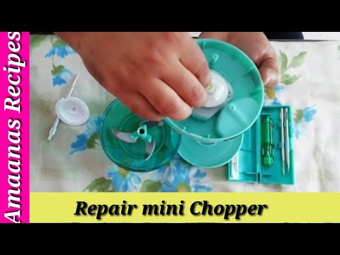Repair mini chopper