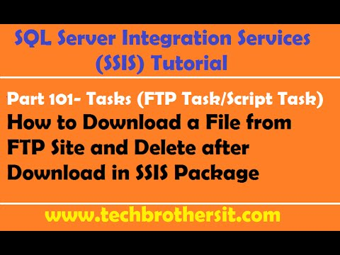 Ssis tutorial for beginners | sql server integration services (ssis) ….