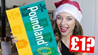 POUNDLAND ADVENT CALENDAR 2017 | *FOR £1??*