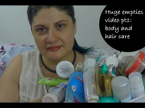 Huge empties video: body and hair care (Eng) |Smugnificent