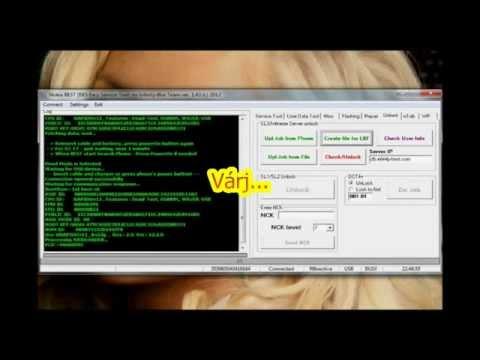 Nokia SL3 HASH Fájl Kiolvasása