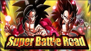 THE SHADOW DRAGON SAGA TEAM DESTROYS CATEGORY SUPER BATTLE ROAD! (DBZ: Dokkan Battle) thumbnail