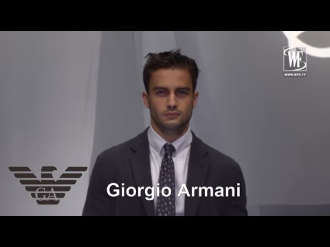 Giorgio Armani Spring-Summer весна-лето 2019 Мужская мода