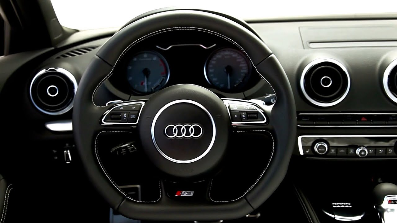 Marvelous 2015 Audi S3 Sedan INTERIOR   YouTube