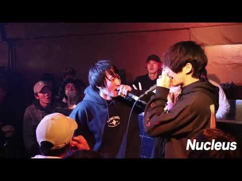 百足 vs MC龍  | ズキ子主催イベント Nucleus vol 1