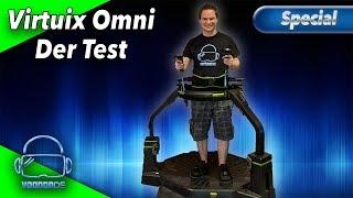 VoodooDE testet die Virtuix Omni VR Treadmill - Besser als der Virtualizer? [Virtual Reality]
