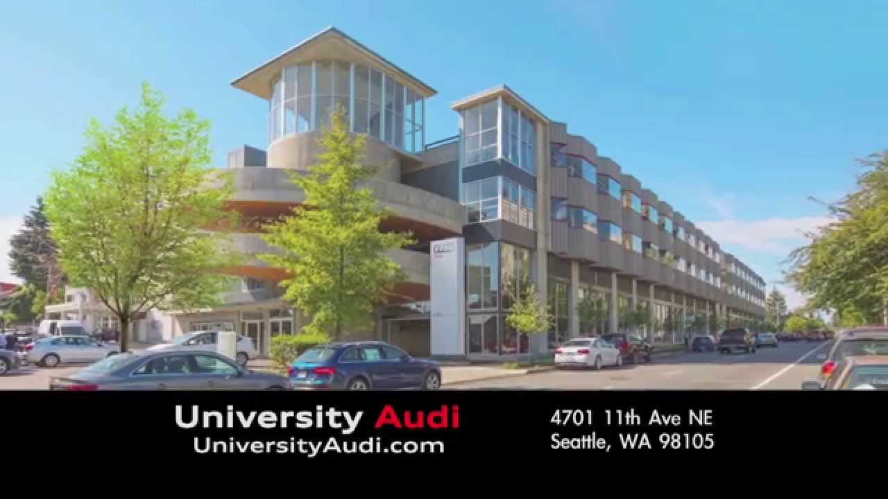 Audi Seattle Car Commercials New Showroom YouTube - Audi seattle