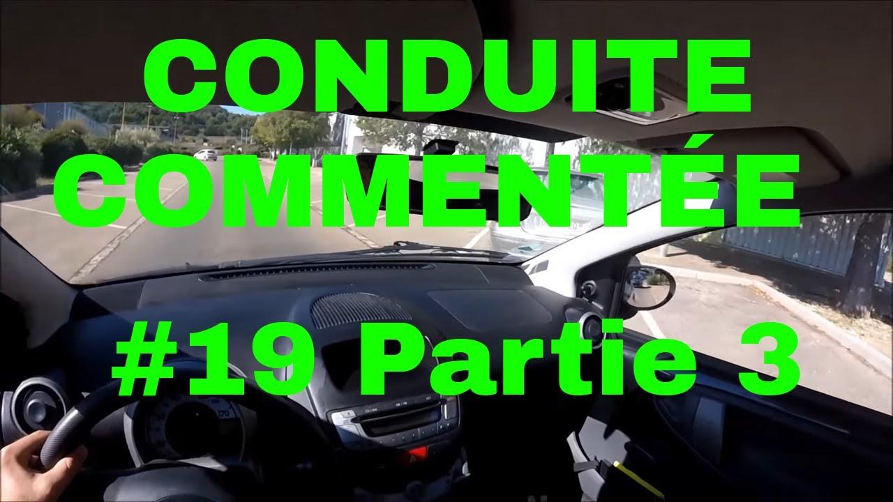 CONDUITE COMMENTEE + MANŒUVRE PERMIS B : ÉPI + RANGEMENT EN BATAILLE EN MARCHE AVANT - YouTube