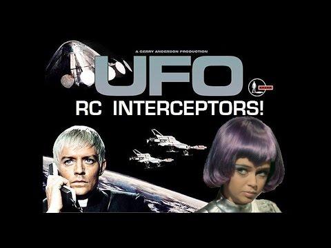 Scratch-built Shado RC UFO Interceptor Quadcopter!