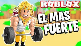 I AM THE STRONGEST OF ROBLOX 💪 🥵 *FORCE SIMULATOR* RODNY