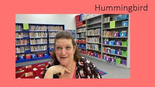 Tuesday Tales at Home - Hummingbird - 4/27/21