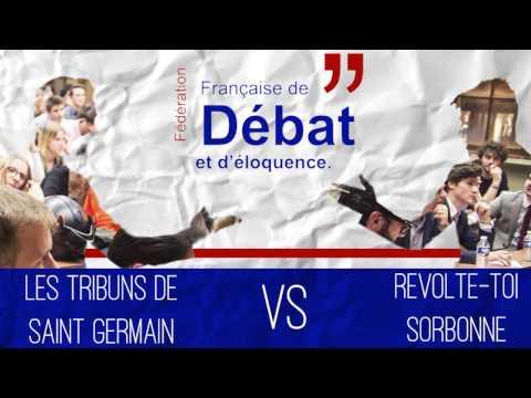 FFDE - Choc Sorbonne Vs. Sciences Po Saint Germain - 01/12/2016