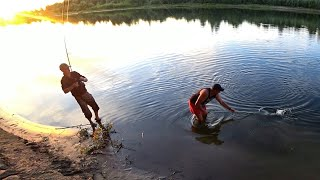 Два трофея за пол часа Подсказали правильный монтаж Рыбалка на реке Ахтуба 3 часть