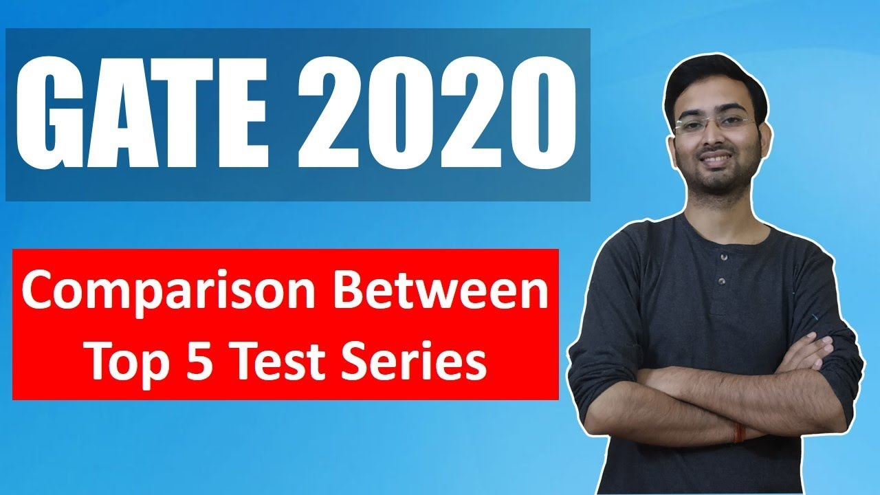 GATE 2020: Comparison between top 5 test series for GATE 2020 preparation !