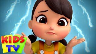 Rain Rain Go Away | Preschool Nursery Rhymes & Baby Cartoon Songs | Boom Buddies | Kids Tv