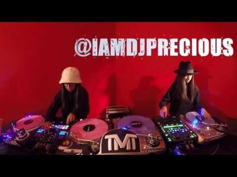 DJ LIVIA & DJ PRECIOUS  TRIBUTES TO DJ KHALED