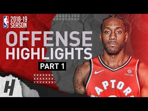 Kawhi Leonard BEST Offense Highlights from 2018-19 NBA Season! Defense Included (Part 1)
