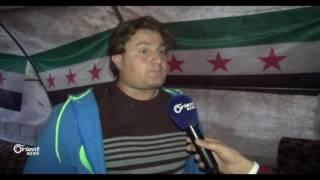 فعالية لإحياء ذكرى الثورة بالقرب من جبهات الجيش الحر