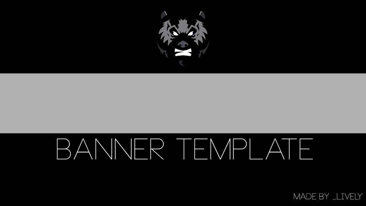 Diy Free Custom Banner Template Make Your Own Banners Youtube