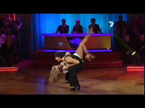 Alex Fevola & Arsen Kishishian - DWTS - S10 E10 - Cha Cha dance off