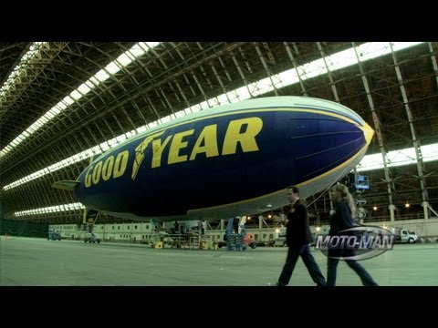 Goodyear Blimp - MotoMan Learns How to Pilot the Goodyear Blimp - Part Two
