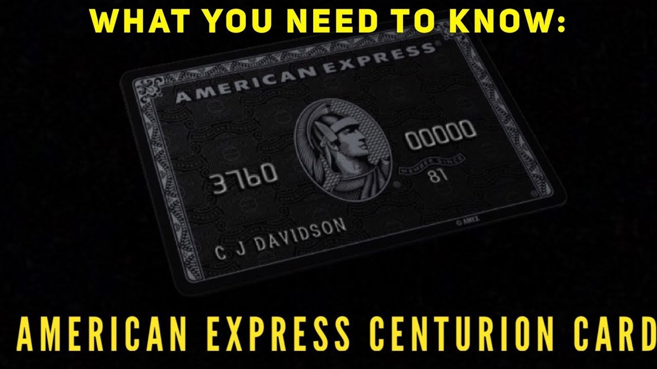 Do you want the amex centurion card heres what you need to know do you want the amex centurion card heres what you need to know colourmoves