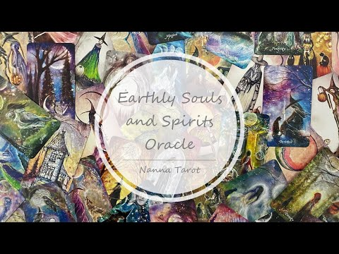 開箱  地靈女巫神諭卡 • Earthly Souls and Spirits Oracle // Nanna Tarot
