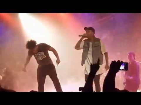 Payback  Attila w fan from the crowd CHAOS Tour @Bogarts Cincinnati, Ohio 10282016