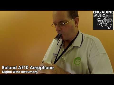 Roland AE-10 Aerophone Digital Wind Instrument Demo - Engadine Music