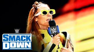 Becky Lynch crashes Bianca Belair s Homecoming Celebration SmackDown Sept 17 2021