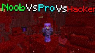 Minecraft NOOB vs PRO vs HACKER: PVP