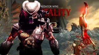 Mortal Kombat X - PREDATOR *SKINNED ALIVE* BRUTALITY vs JACQUI BRIGGS!