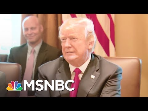 President Trump Lauds Own 'Performance' At Meeting With Lawmakers   The 11th Hour   MSNBC