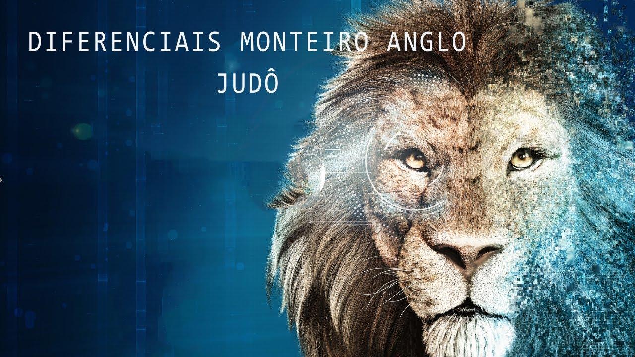 DIFERENCIAIS DO MONTEIRO ANGLO - Judô