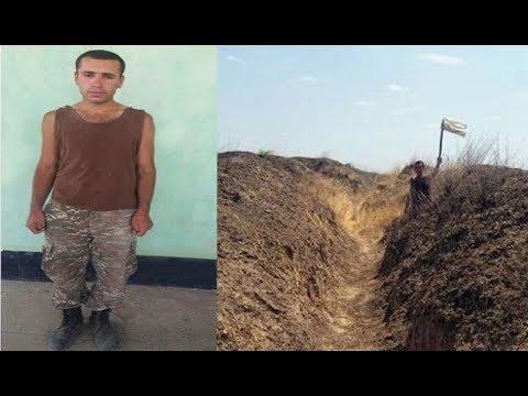 Армянский дезертир сдался