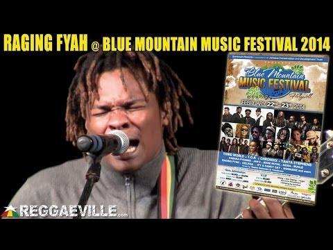 Raging Fyah - Running Away @ Blue Mountain Music Festival 2014