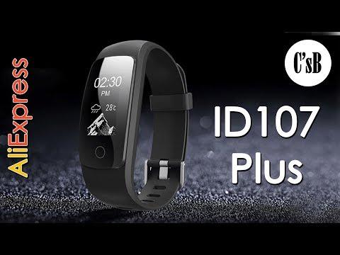 ID107 Plus фитнес браслет с AliExpress