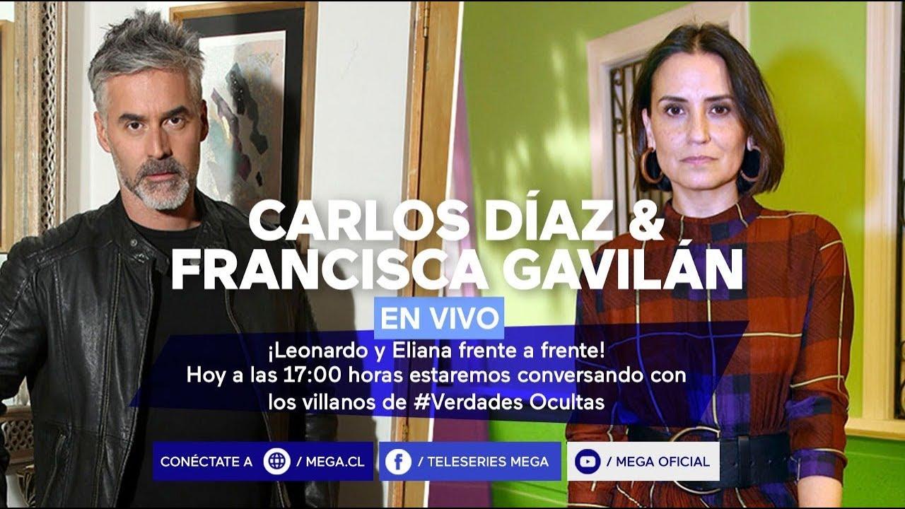 #VerdadesOcultas / Carlos Díaz y Francisca Gavilán nos entregan detalles de #VerdadesOcultas en vivo