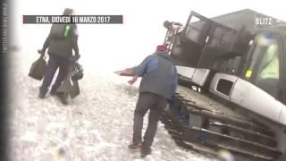 BBC team caught in Etna explosion