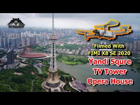 yandi-square-tv-tower-opera-house-fimi-x8-se-aerial-filming-drone