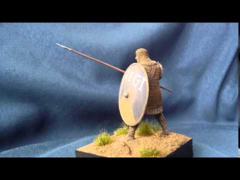 "Soldiers ""Roman infantryman 3rd century A.D."" in 54mm scale"