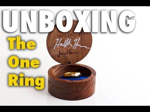 Jens Hansen/Weta One Ring Unboxing