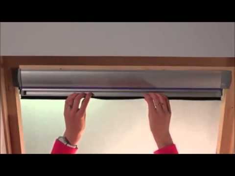 Installing Your Skylight Blind | By Ambition Blinds