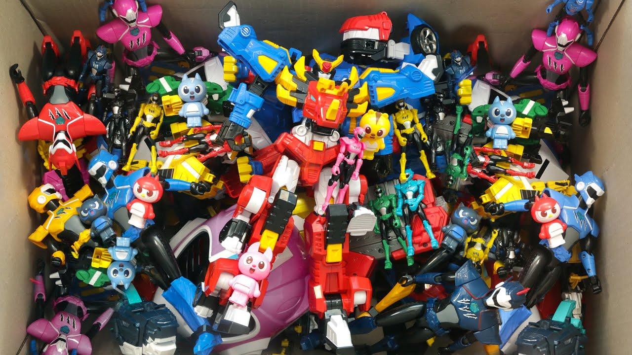 미니특공대 장난감이 한자리에 모였다 로봇에서 캐릭터 그리고 다양한 장난감을 만나보아요