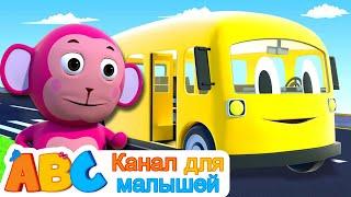 5 красочных автобусов Колеса на автобусе Канал для малышей Детские песни Детские мультики