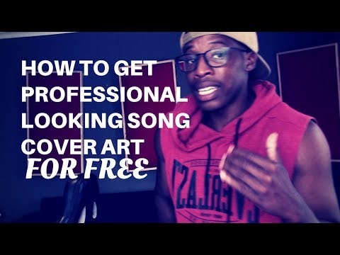 how to get professional song cover art for free