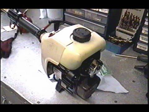 HOW TO REPLACE Fuel Line  Filter on 2 Cycle Ryobi Grass Trimmer