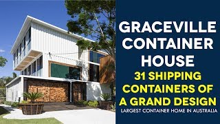 Graceville Container House Grand Design By Todd Miller Of Zeigler Build