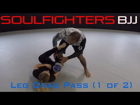 BJJ Leg Drag Pass (1 of 2)